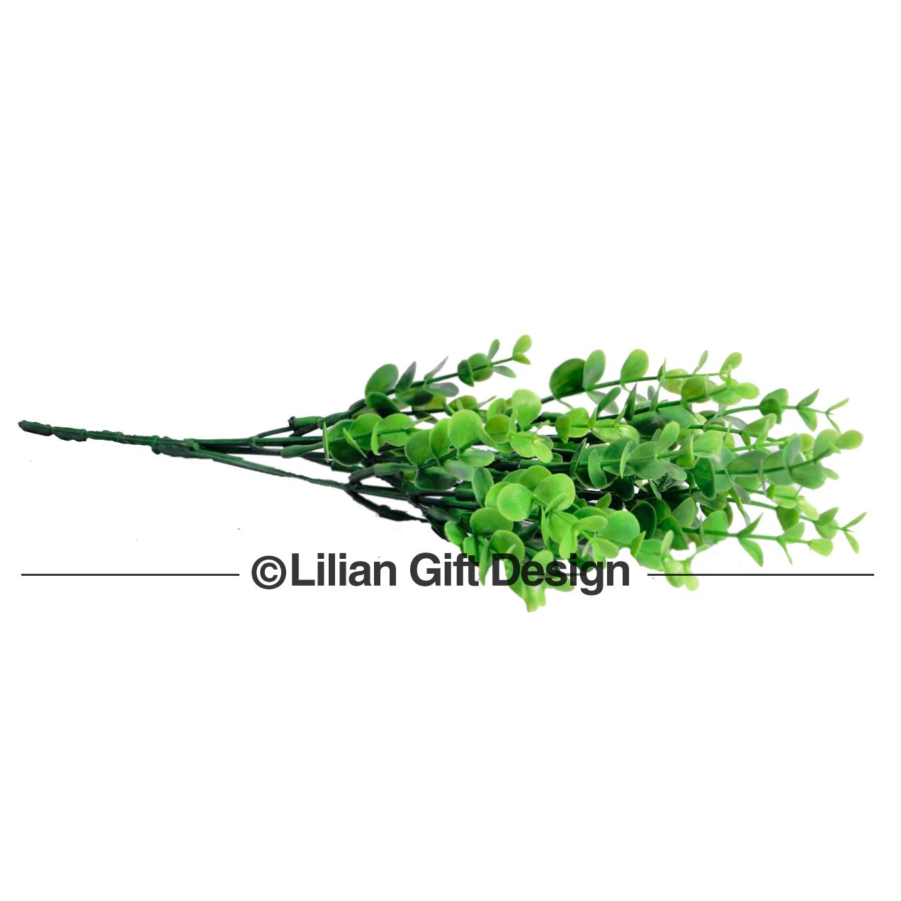 Planta artificial 5 galhos 30cm