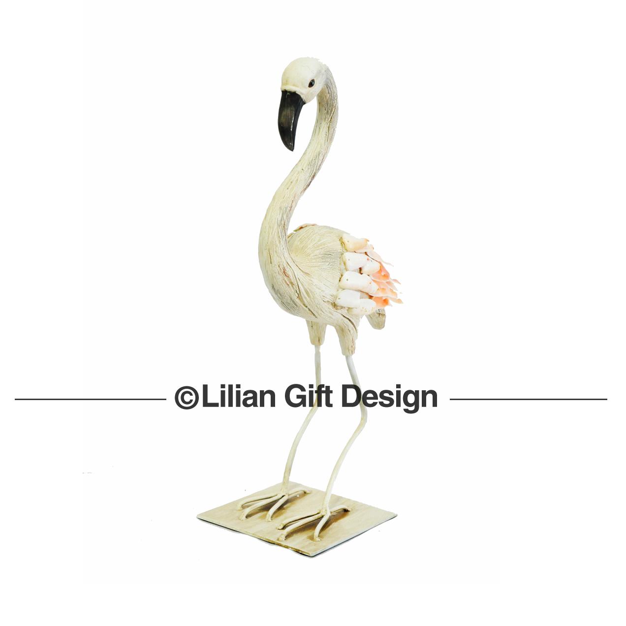 Flamingo resina 40 cm