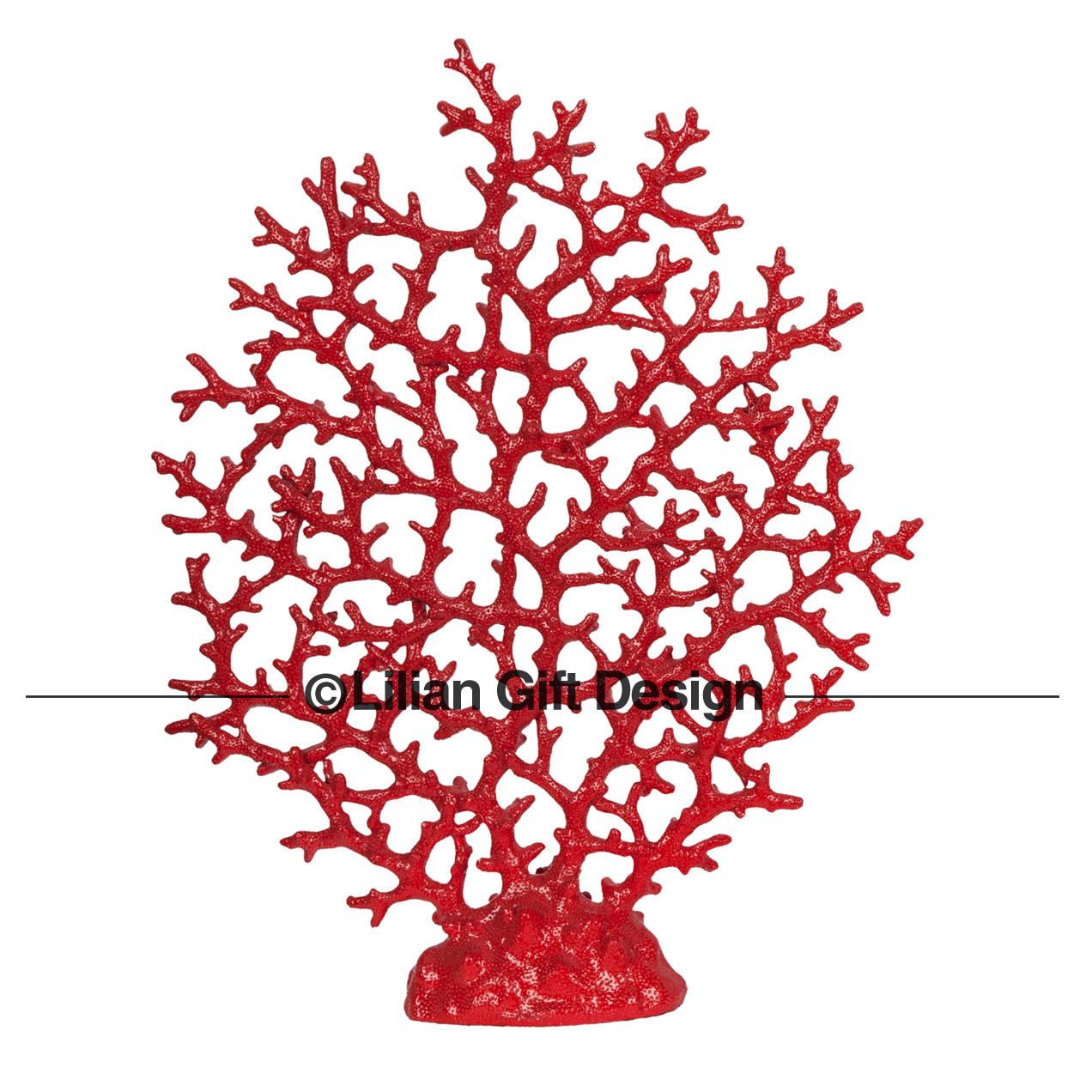 Árvore coral resina 48cm cf1121188-a10