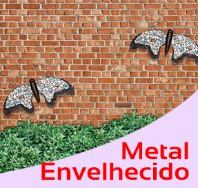 Coleção Metal envelhecido