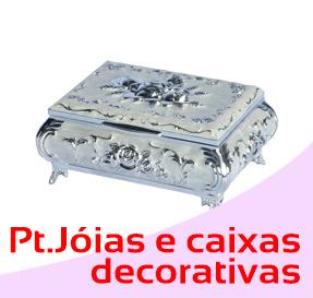 Porta jóias e caixas decorativas